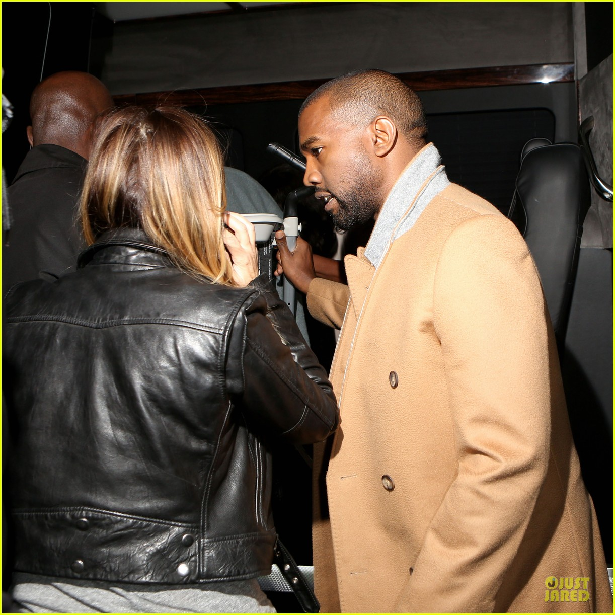 kim kardashian kanye west friday dinner date with north 22