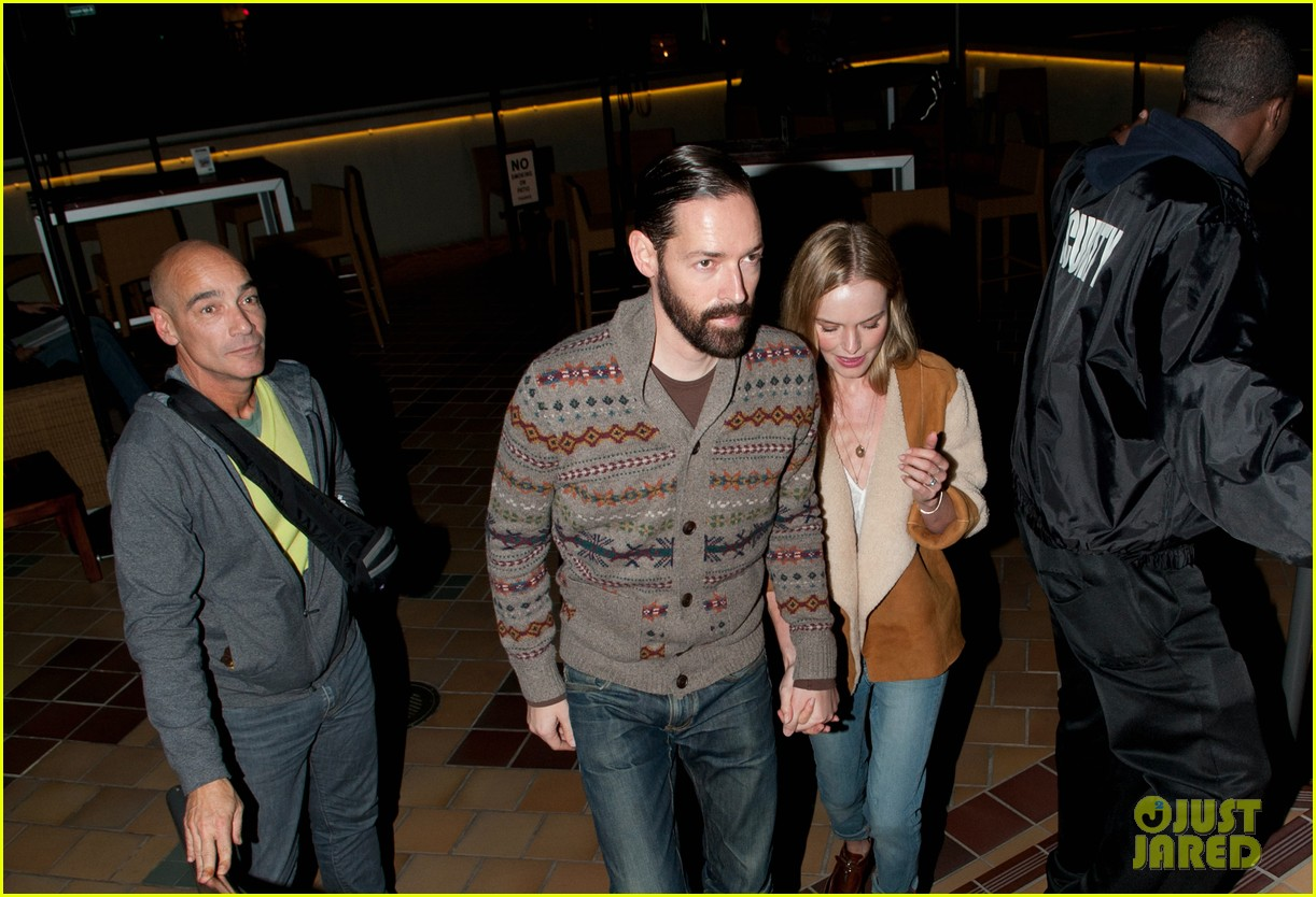 kate bosworth michael polish hold hands after big sur screening 02