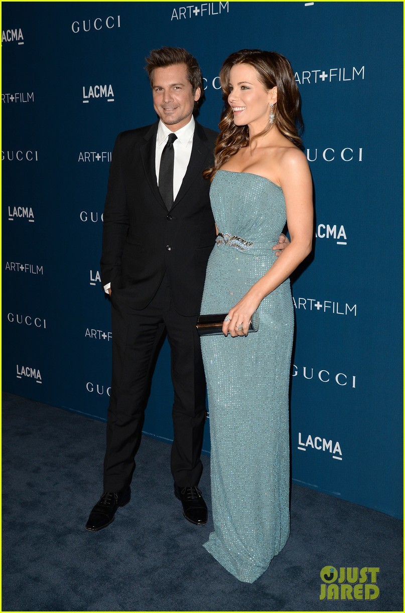 kate beckinsale len wiseman lacma art film gala 05