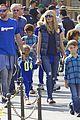 heidi klum spends sunday at disneyland with family 08