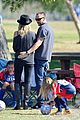 heidi klum martin kirsten sunday soccer with the kids 24