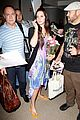 lana del rey receives flowers at lax airport 03