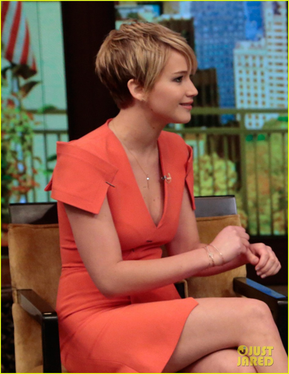 jennifer lawrence live with kelly michael 01