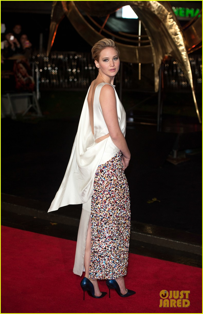 jennifer larence catching fire london premiere red carpet 15
