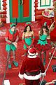 lea michele naya rivera santas sexy little helpers 09