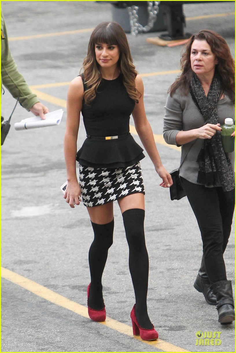 lea michele glee funny girl performance 052993741