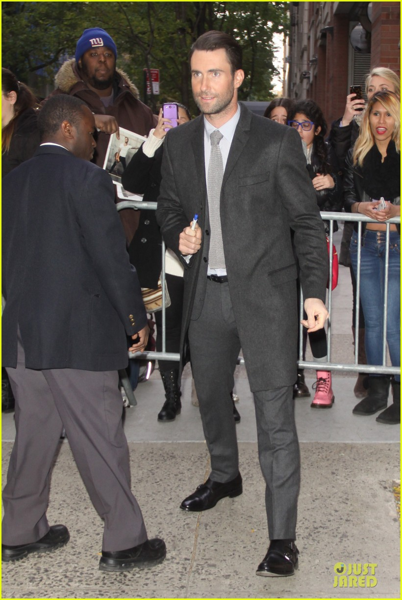adam levine cradles cute puppy on today show 11