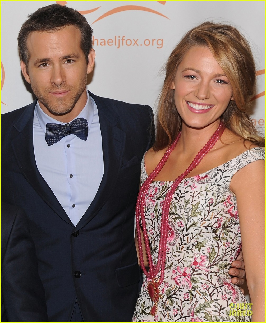 blake lively ryan reynolds cure parkinsons disease event 022989448