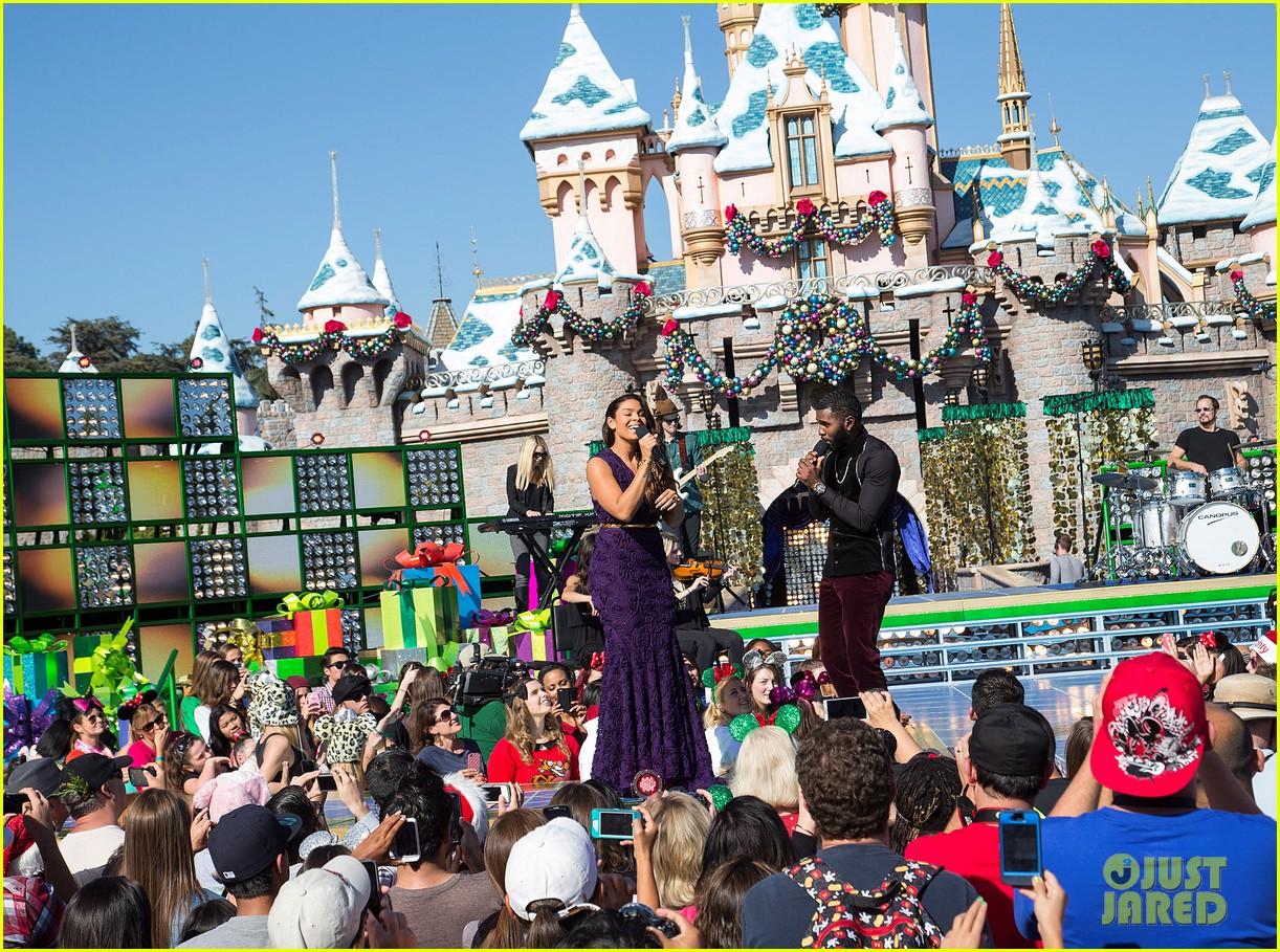 demi lovato jordin sparks disney christmas parade taping 022989622