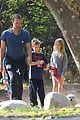 chris martin stroll with kids after kanye west concert 09