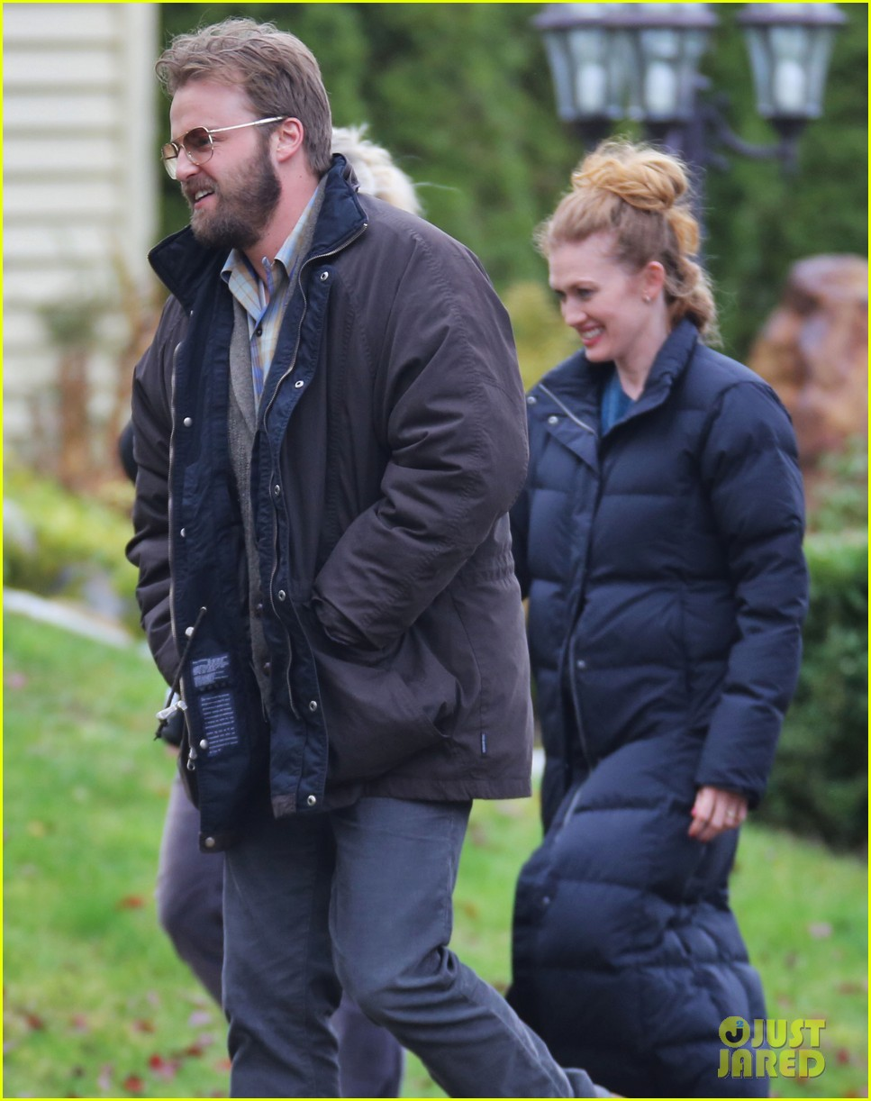 chloe moretz first day on if i stay set 092983777