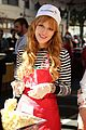 neil patrick harris bella thorne help feed the homeless 01