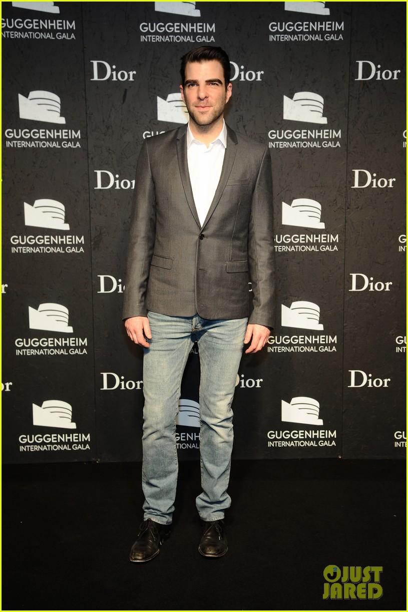 Guggenheim international gala zachary quinto dating