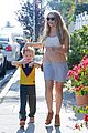 teresa palmer glowing lunch with nephew 15