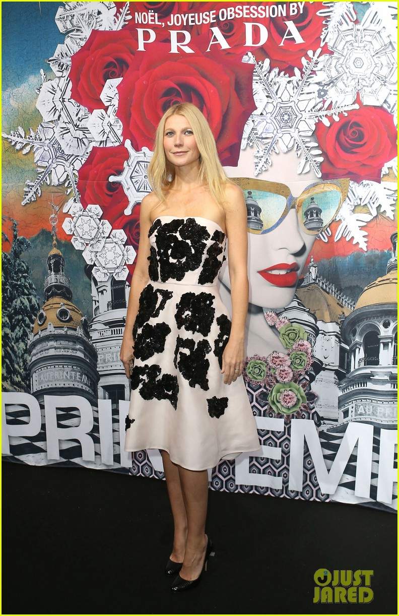 gwyneth paltrow printemps christmas decorations inauguration 122987761