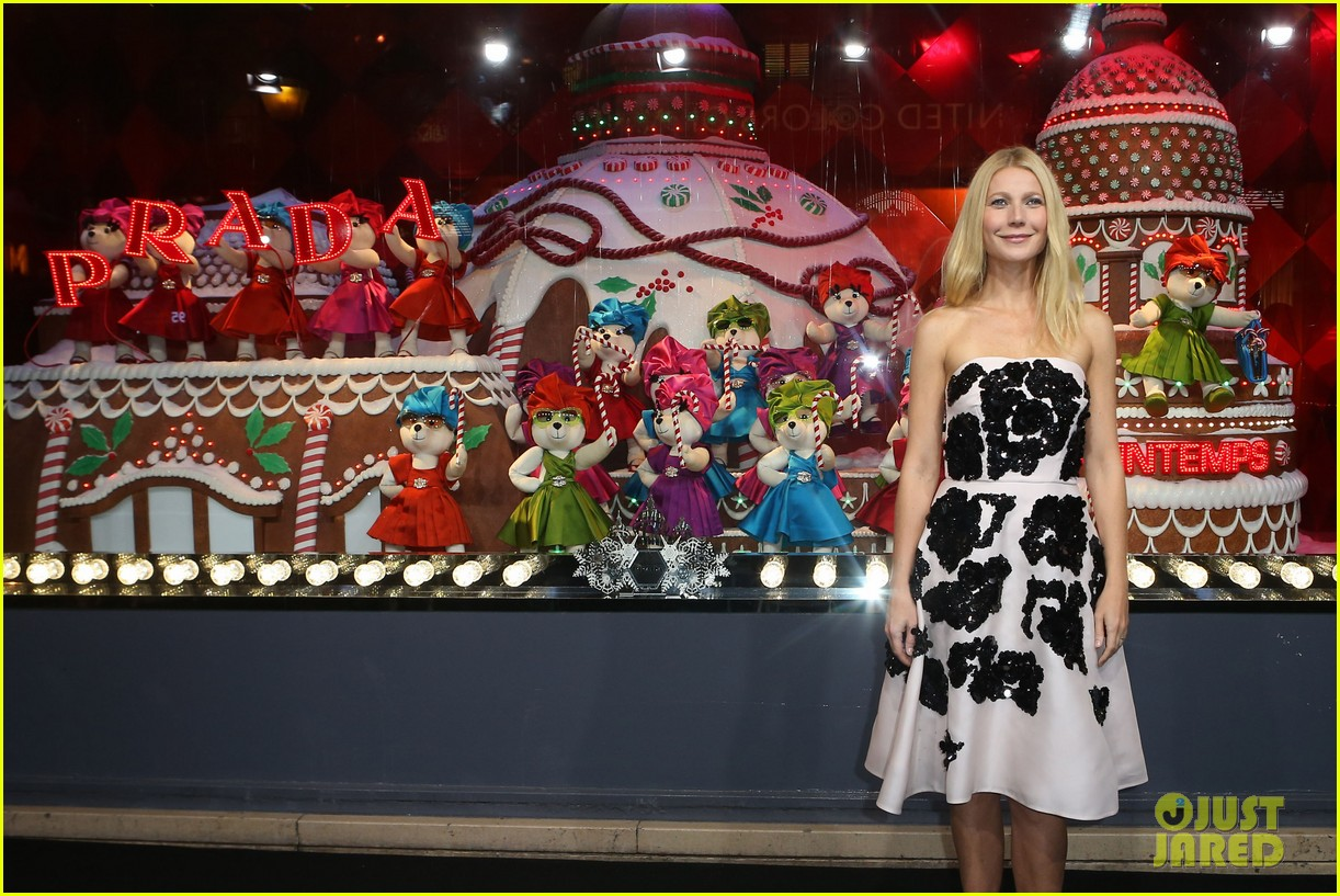 gwyneth paltrow printemps christmas decorations inauguration 142987763