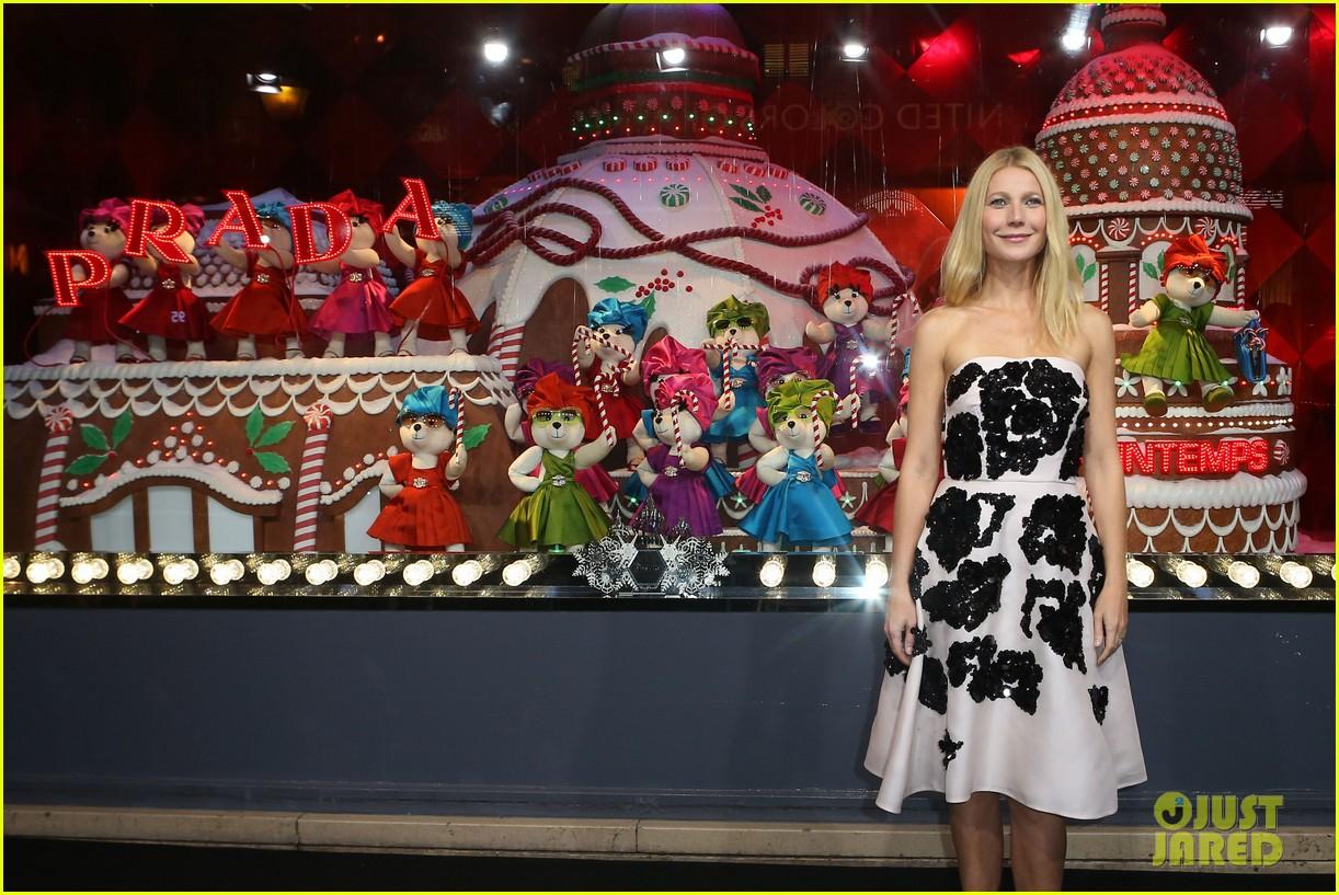 gwyneth paltrow printemps christmas decorations inauguration 14