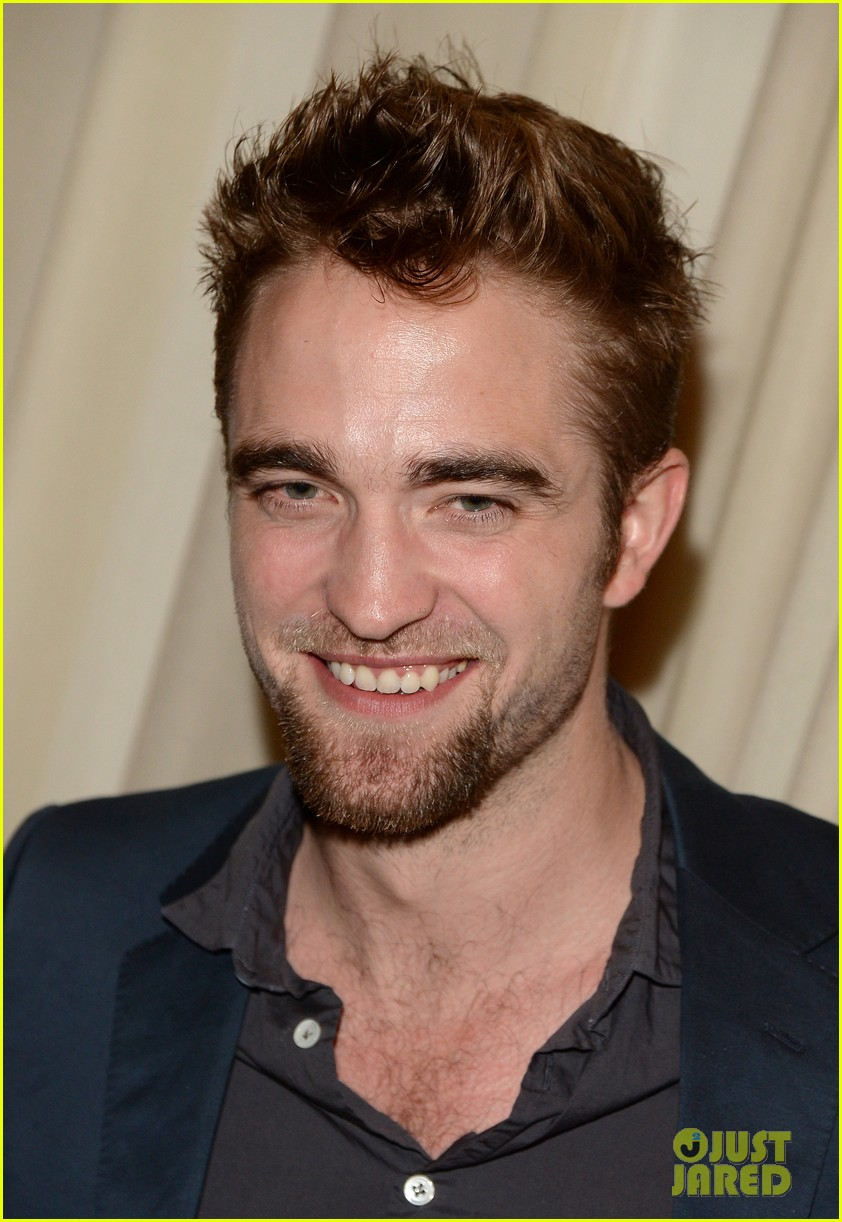robert pattinson shows off new goatee at go go gala 072993271