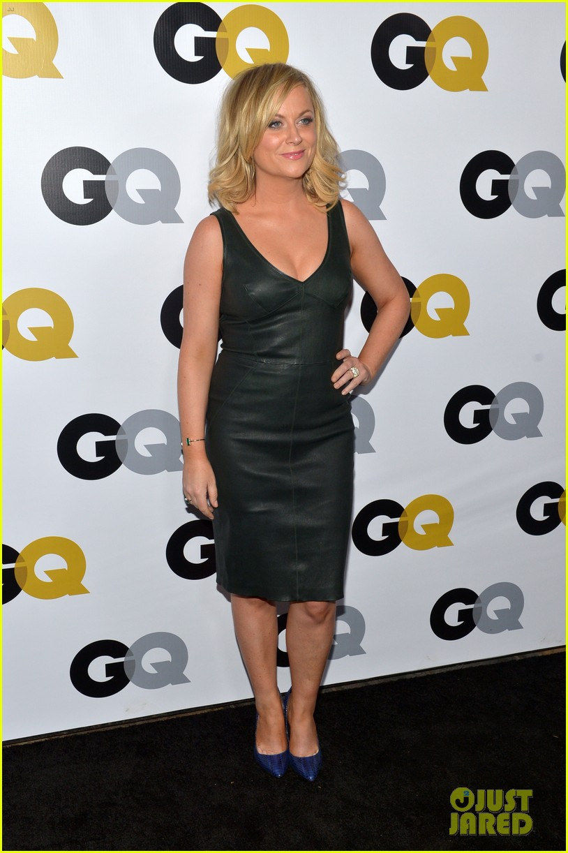 amy poehler nick kroll gq men of the year party 092991497