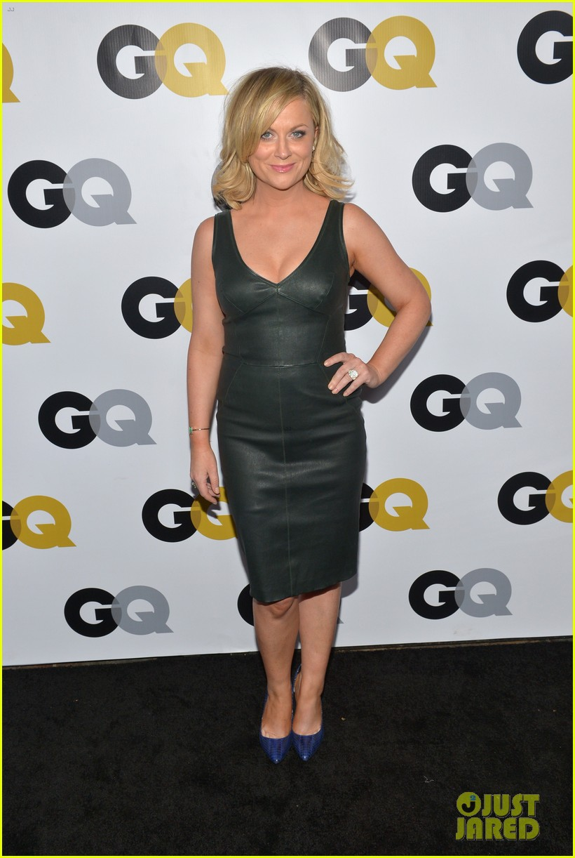 amy poehler nick kroll gq men of the year party 20