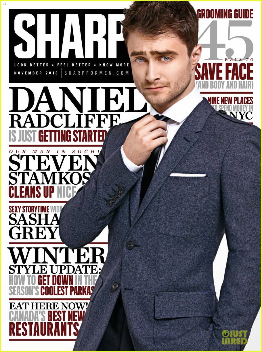 daniel radcliffe covers sharp magazine november 2013 052984905