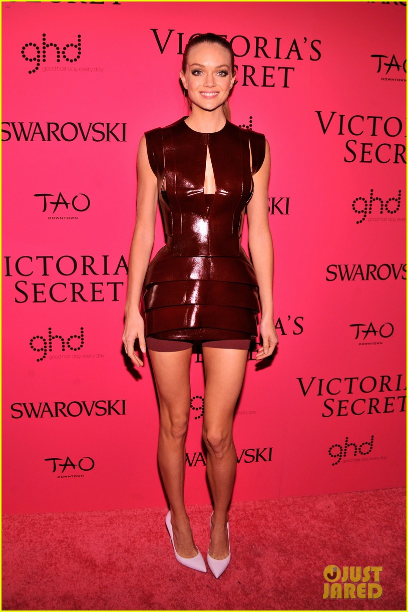 hilary rhoda lindsay ellingson victorias secret fashion show after party 2013 06