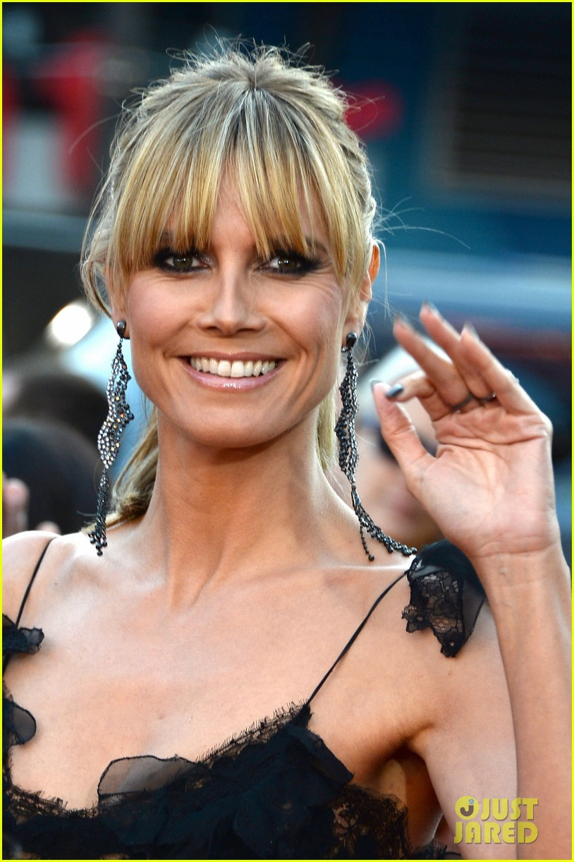 nicole richie heidi klum amas 2013 red carpet 082999347