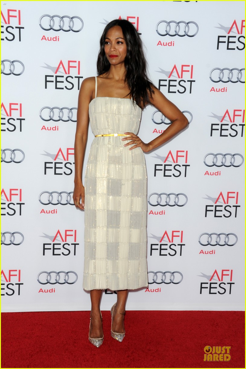zoe saldana out of the furnace hollywood screening 18