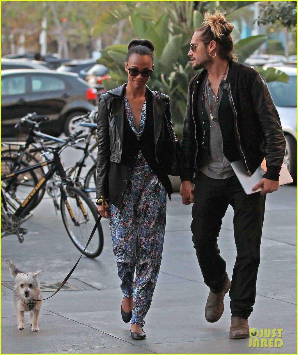 zoe saldana marco perego hold hands look so in love 132984002