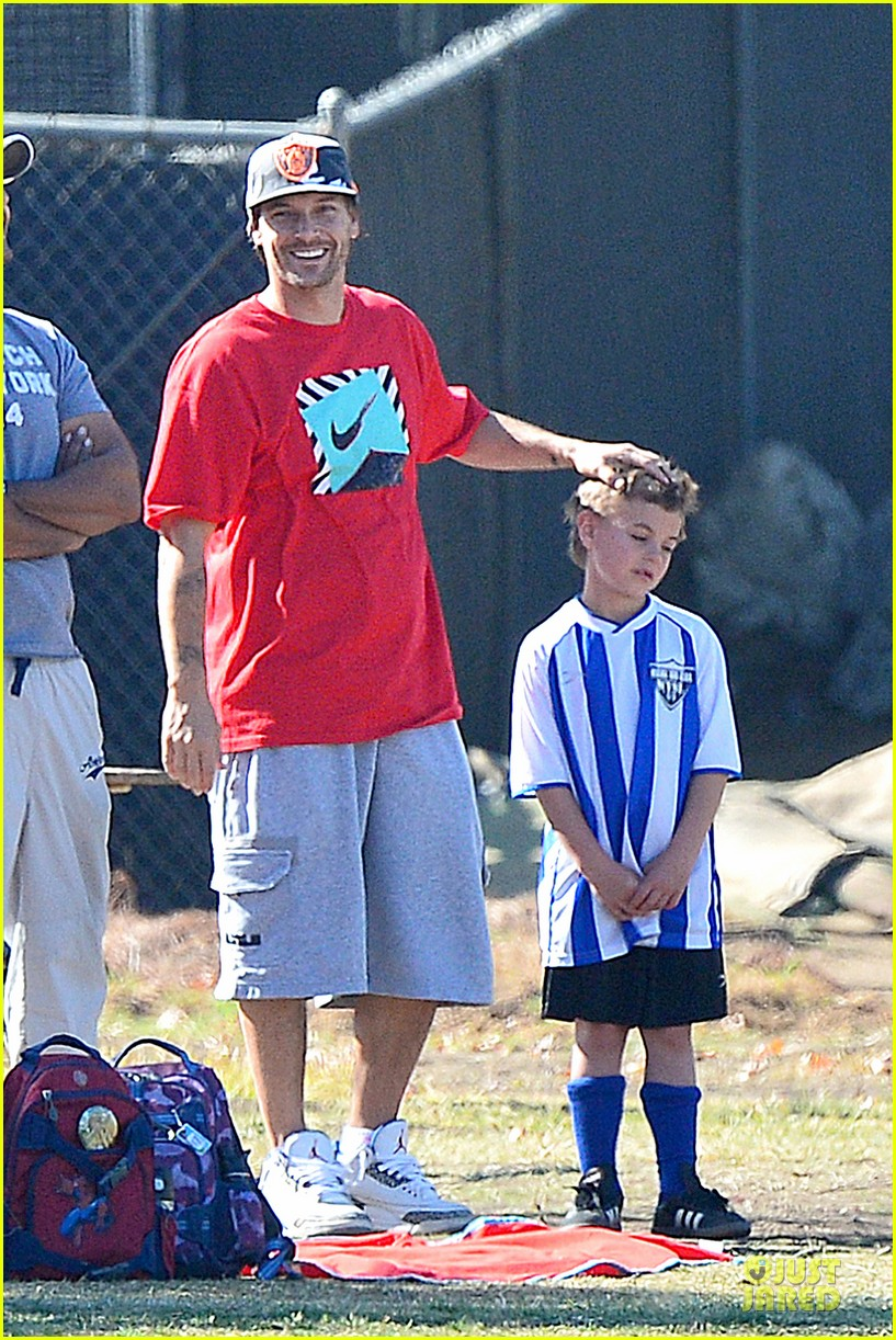 britney spears david lucado soccer game with kevin federline 192989159