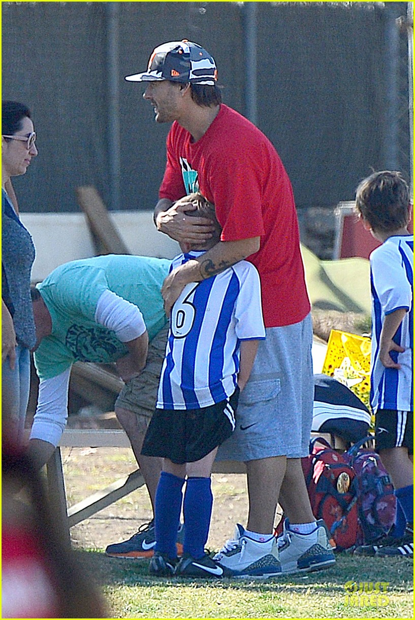 britney spears david lucado soccer game with kevin federline 20