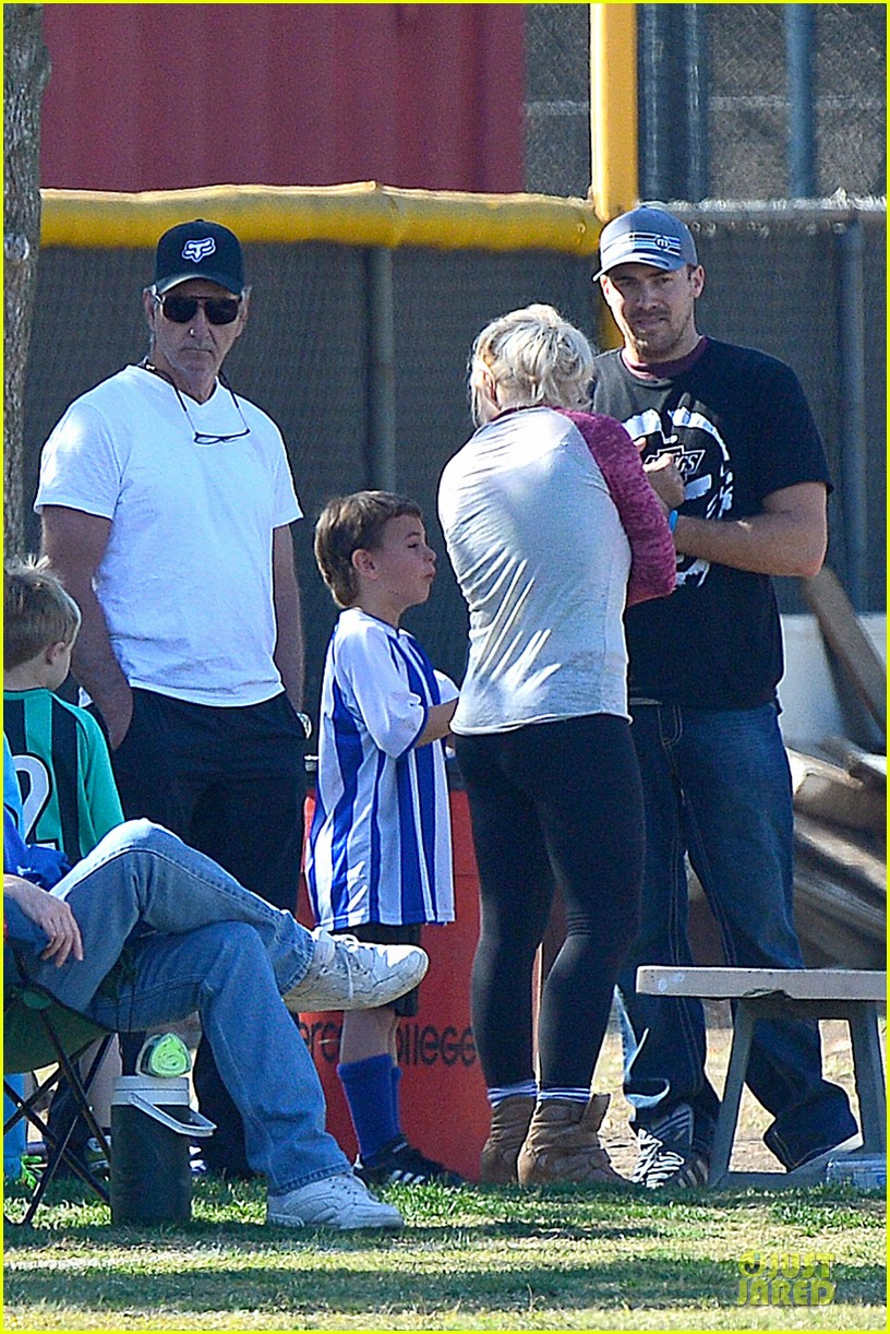 britney spears david lucado soccer game with kevin federline 292989169