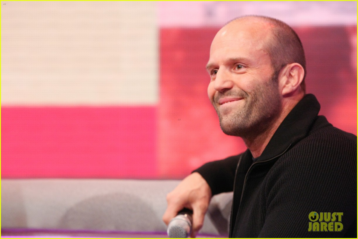 jason statham promotes homefront on 106 park 10