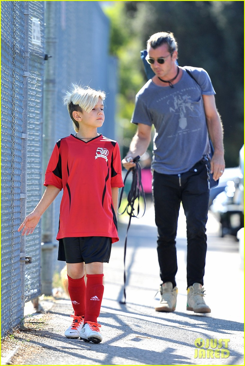 gwen stefani gavin rossdale keep busy over the weekend 10