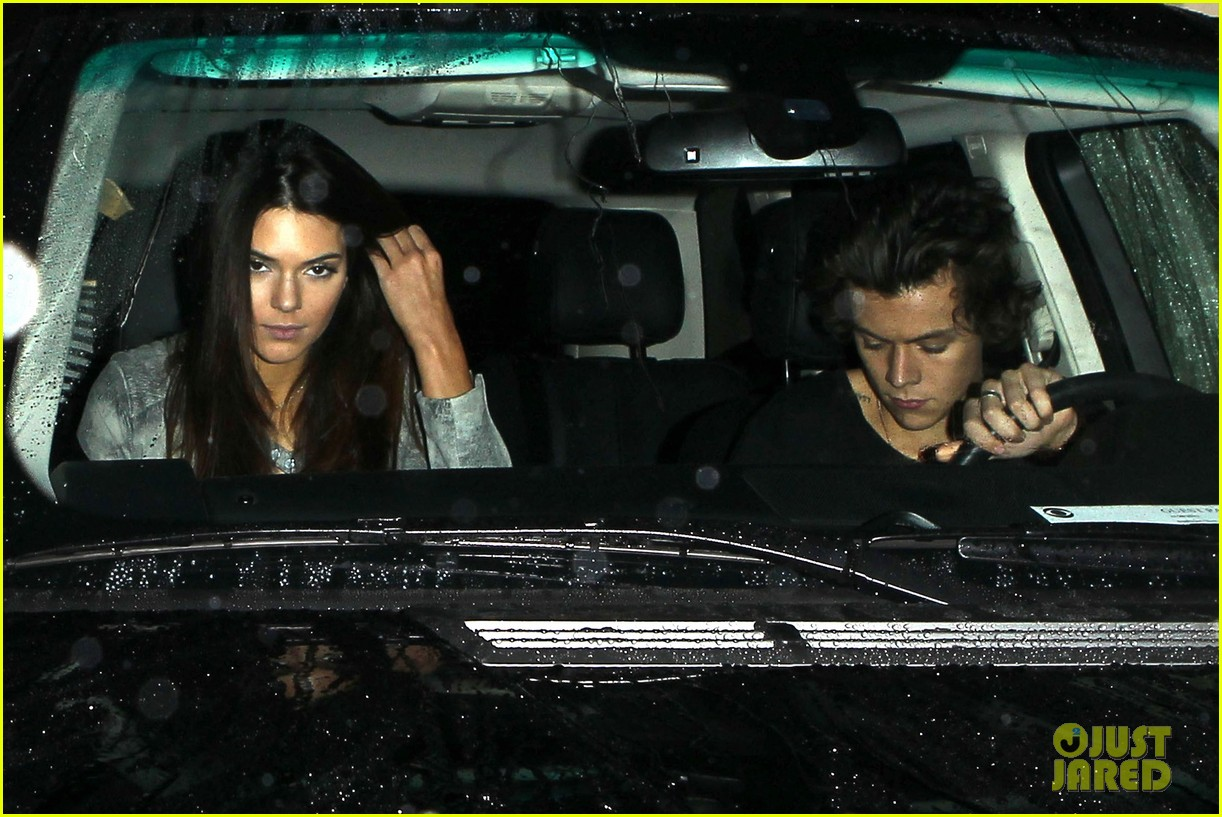 harry styles kendall jenner leave dinner together 07