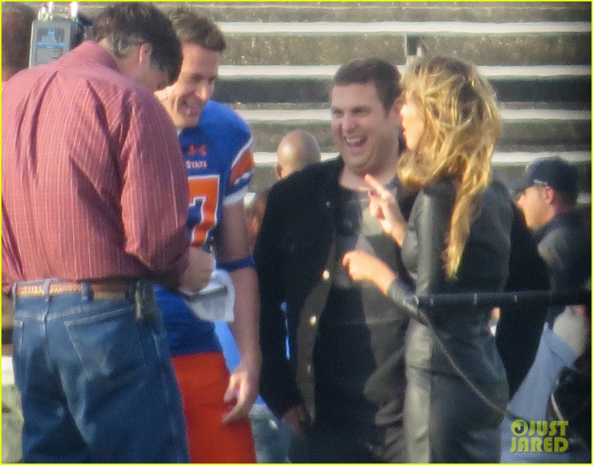 channing tatum filming 22 jump street football game 13