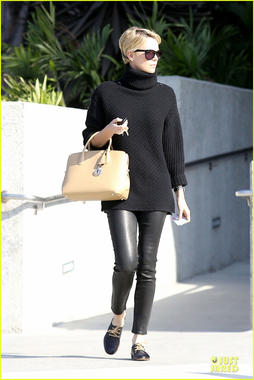 charlize theron inspired kristin chenoweth pixie cut 11