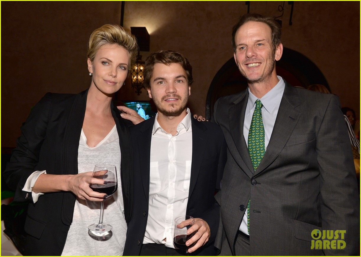 charlize theron mark wahlberg reunite at premiere after party 102991938