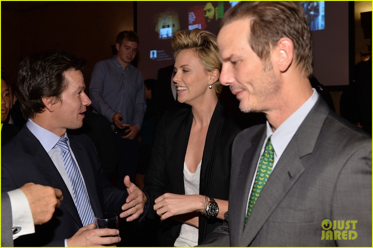 charlize theron mark wahlberg reunite at premiere after party 15