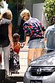 charlize theron sydney outing with her little man jackson 05