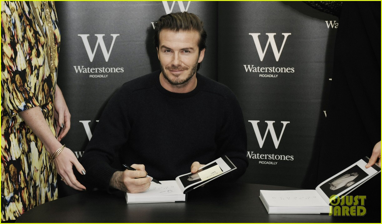 david beckham london book signing 04
