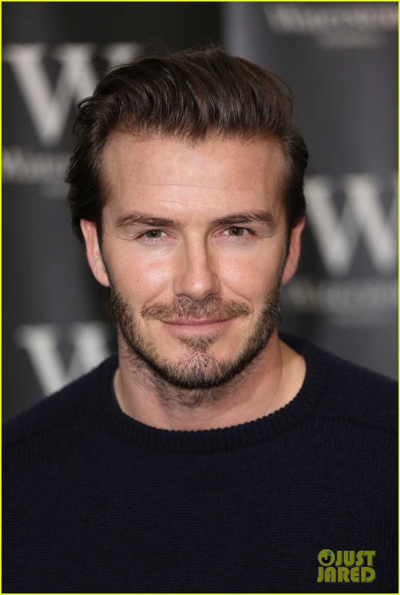 david beckham london book signing 12