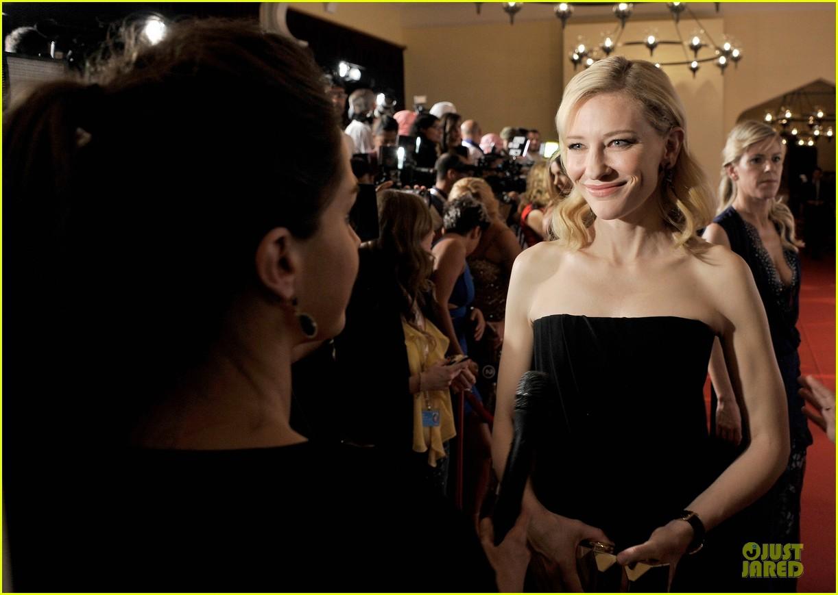 cate blanchett michael b jordan iwc filmmakers award 12