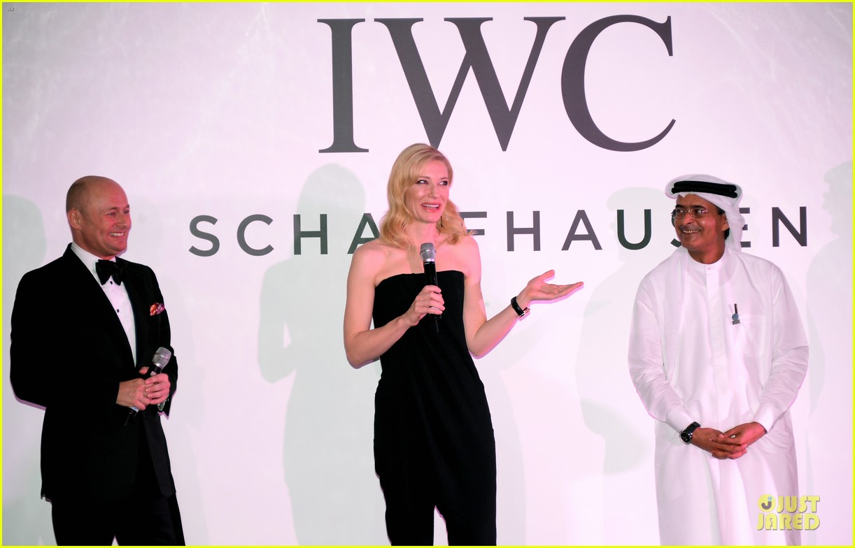 cate blanchett michael b jordan iwc filmmakers award 173007277