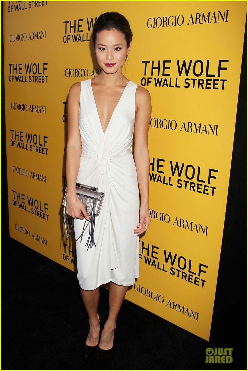 orlando bloom jamie chung wolf of wall street premiere 093013933