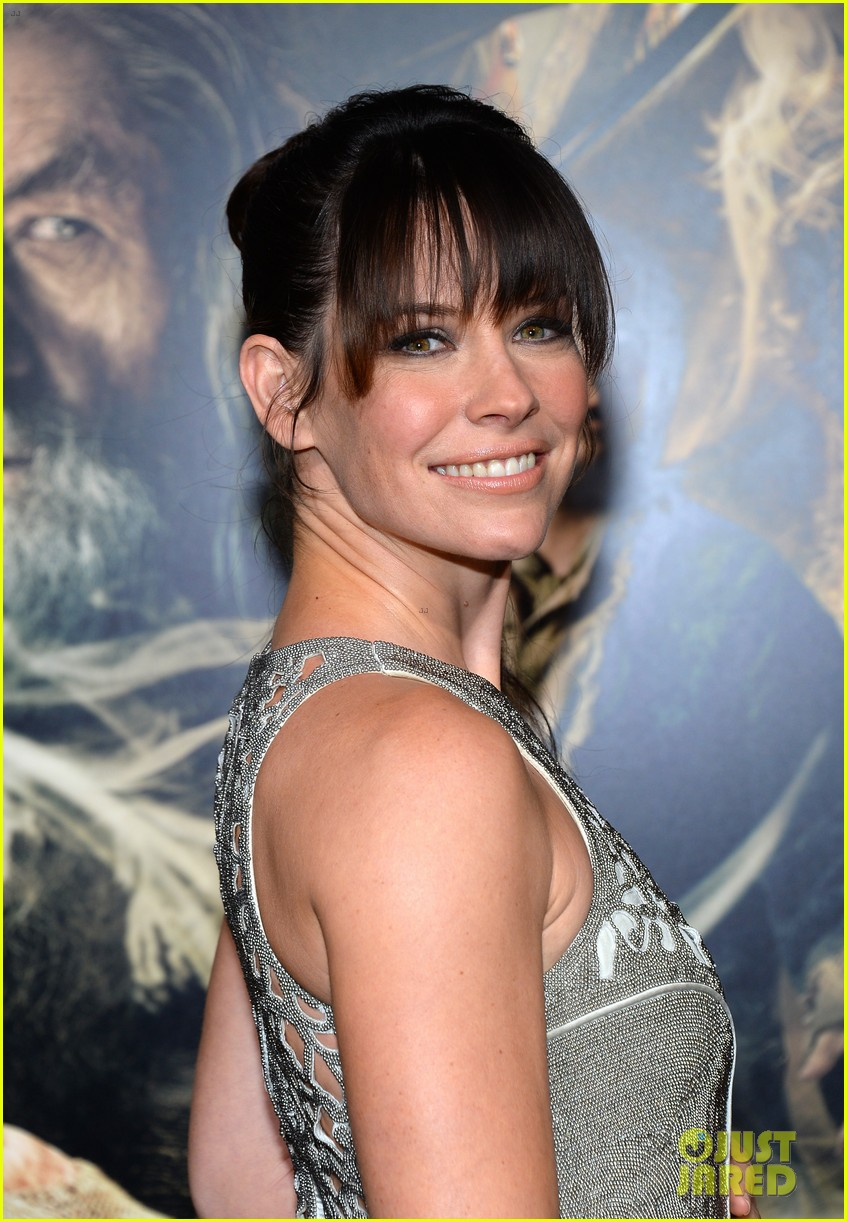orlando bloom evangeline lilly hobbit hollywood premiere 11