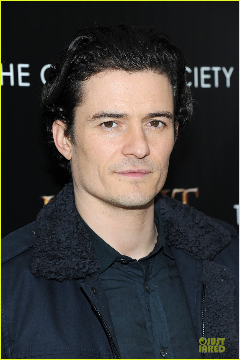 orlando bloom evangeline lilly hobbit nyc screening 143010239