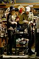 kate bosworth michael polish grocery run before holidays 09