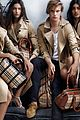 jamie campbell bower burberry spring summer campaign pic 01