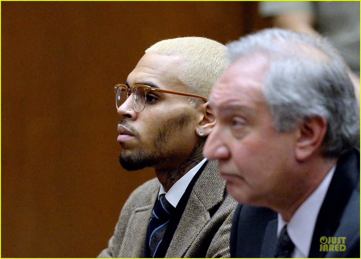 chris brown probation revoked over october arrest 12